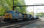 CSX CW44AH 5104 leads Q418-21 